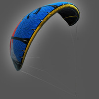 Cabrinha Kite (rigged)