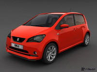 3ds max seat mii 5door 2013