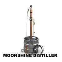 moonshine distiller 3d model