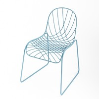 sam johnson net chair 3d obj