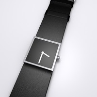 3d model wristwatch watch