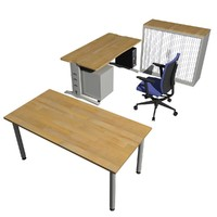 3ds max office furnitures toolkit