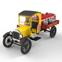 3d obj automobile t trucking tt