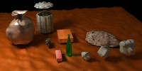 free different rubbish 3d model