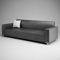 CGAxis Graphite Sofa 12