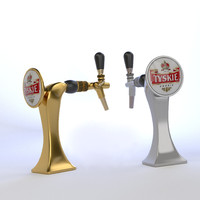3d beer tower model