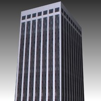 free raleigh office building 3d model