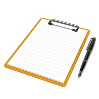 Clipboard with Pen set