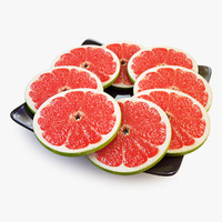 3d lobule grapefruit