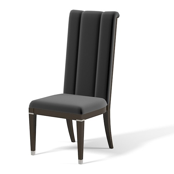 Turri Contemporary Genesis Leather dining chair modern