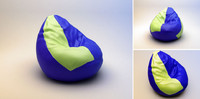 "Soft armchair ""pear"