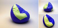 """Soft armchair """"pear"""