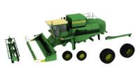 3d model don 1500 harvester
