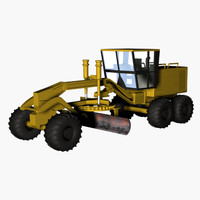 3d model track vehicle machine equipment