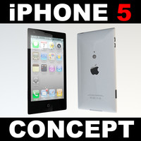 Apple iPhone5 concept