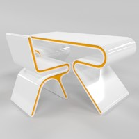 omega chair desk obj