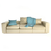maya poliform groundpiece sofa