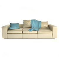 maya poliform groundpiece sofa