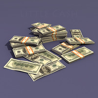dollar money 3d model