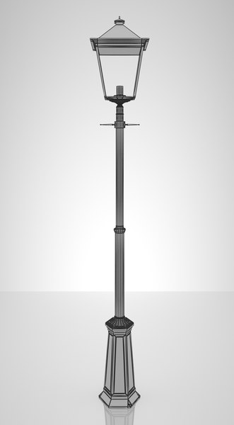 3d victorian london street lamp model - London Street Lamp... by oconlt99