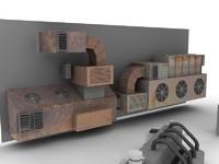 3d fbx industrial units