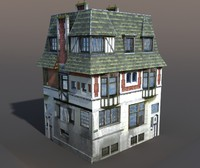 apartment house 3d max