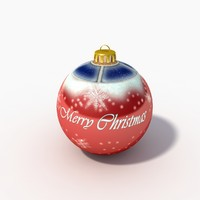 3ds max christmas ornament