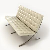 3ds max sofa barcelona