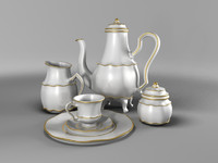 3d model kitchen tea