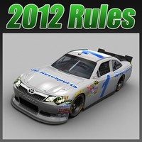 nascar toyota camry 3d max