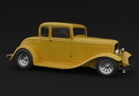 Ford 1932 5 window coupe