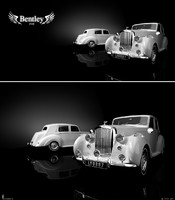 3d model of bentley mk