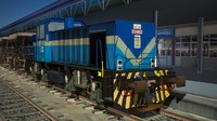 3d tcdd locomotive engine
