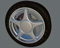 wheel breake c4d