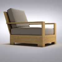 Restoration Hardware - Belvedere Lounge Chair