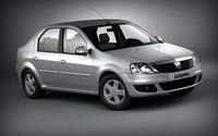 3d model dacia logan 2008