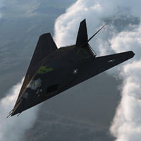 realistic f 117 nighthawk 3d model