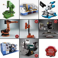 Industrial Machines Collection V4