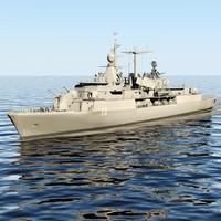 3d meko 360 frigate