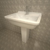 duravit starck3 washbasin 3d 3ds