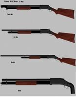 3d winchester trench gun