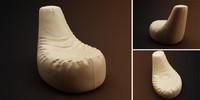 armchair shoe 3d max