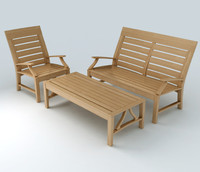 Patio Furniture Set 3