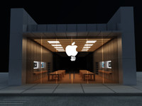 apple store 3d 3ds