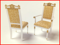 luxury chair 3d x