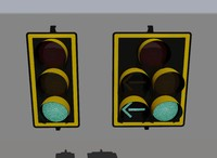 3d stop lights