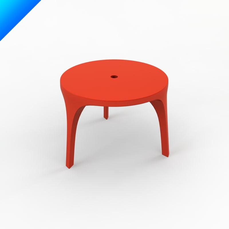 Victoria albert table design 3d model for Table design 3d