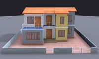 asset architecture 3d fbx