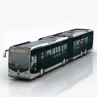 3ds max capacity city bus
