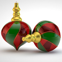 christmas decoration 3d model